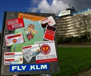 Tourist Save The World voor KLM